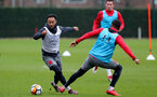 SOUTHAMPTON, ENGLAND - MARCH 13: Nathan Redmond during a Southampton FC training session at the Staplewood Campus on March 13, 2018 in Southampton, England. (Photo by Matt Watson/Southampton FC via Getty Images)