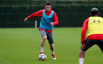 SOUTHAMPTON, ENGLAND - MARCH 13:Pierre-Emile Hojbjerg during a Southampton FC training session at the Staplewood Campus on March 13, 2018 in Southampton, England. (Photo by Matt Watson/Southampton FC via Getty Images)
