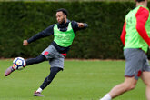 Gallery: Saints prepare for Hughes's first game