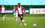 SOUTHAMPTON, ENGLAND - MARCH 17: Jonathan Afolabi during the U18's match between Southampton FC and Reading FC at Staplewood Complex on March 16, 2018 in Southampton, England. (Photo by James Bridle - Southampton FC/Southampton FC via Getty Images)