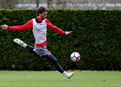 Gallery: Saints work towards West Ham clash