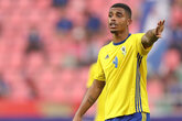 Lemina's Gabon in AFCON qualifying action