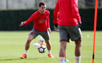 SOUTHAMPTON, ENGLAND - APRIL 06: Cedric during a Southampton FC training session at the Staplewood Campus on April 6, 2018 in Southampton, England. (Photo by Matt Watson/Southampton FC via Getty Images)