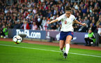 SOUTHAMPTON, ENGLAND - APRIL 06: Jodie Taylor during the Women's World Cup Qualifier match between England and Wales match at St Mary's Stadium on April 6, 2018 in Southampton, England. (Photo by James Bridle - Southampton FC/Southampton FC via Getty Images)