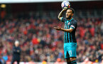 LONDON, ENGLAND - APRIL 08: Ryan Bertrand during the Premier League match between Arsenal and Southampton at Emirates Stadium on April 8, 2018 in London, England. (Photo by James Bridle - Southampton FC/Southampton FC via Getty Images)