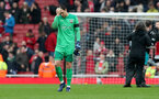LONDON, ENGLAND - APRIL 08: Alex McCarthy of Southampton during the Premier League match between Arsenal and Southampton at Emirates Stadium on April 8, 2018 in London, England. (Photo by Matt Watson/Southampton FC via Getty Images)