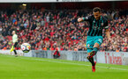 LONDON, ENGLAND - APRIL 08: Ryan Bertrand of Southampton during the Premier League match between Arsenal and Southampton at Emirates Stadium on April 8, 2018 in London, England. (Photo by Matt Watson/Southampton FC via Getty Images)