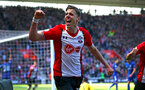SOUTHAMPTON, ENGLAND - APRIL 14: Jan Bednarek scores for Southampton FC during the Premier League match between Southampton and Chelsea at St Mary's Stadium on April 14, 2018 in Southampton, England. (Photo by Chris Moorhouse/Southampton FC via Getty Images)