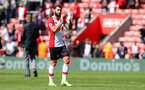 SOUTHAMPTON, ENGLAND - APRIL 14: Charlie Austin of Southampton during the Premier League match between Southampton and Chelsea at St Mary's Stadium on April 14, 2018 in Southampton, England. (Photo by Matt Watson/Southampton FC via Getty Images)