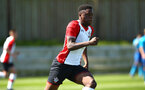 SOUTHAMPTON, ENGLAND - APRIL 18: Jonathan Afolabi during the U18 Premier League match between Southampton FC and Arsenal FC at Staplewood Complex on April 17, 2018 in Southampton, England. (Photo by James Bridle - Southampton FC/Southampton FC via Getty Images)