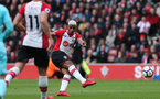 SOUTHAMPTON, ENGLAND - APRIL 28: Mario Lemina during the Premier League match between Southampton and AFC Bournemouth at St Mary's Stadium on April 28, 2018 in Southampton, England. (Photo by Chris Moorhouse/Southampton FC via Getty Images)