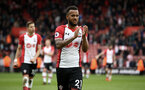 SOUTHAMPTON, ENGLAND - APRIL 28: Ryan Bertrand  of Southampton FC celebrates after the final whistle is blown for the Premier League match between Southampton and AFC Bournemouth at St Mary's Stadium on April 28, 2018 in Southampton, England. (Photo by James Bridle - Southampton FC/Southampton FC via Getty Images)