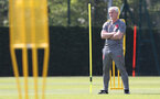 SOUTHAMPTON, ENGLAND - MAY 07: Mark Hughes during a Southampton FC training session at the Staplewood Campus on May 7, 2018 in Southampton, England. (Photo by Matt Watson/Southampton FC via Getty Images)