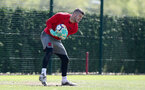 SOUTHAMPTON, ENGLAND - MAY 07: Fraser Forster during a Southampton FC training session at the Staplewood Campus on May 7, 2018 in Southampton, England. (Photo by Matt Watson/Southampton FC via Getty Images)