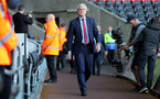 SWANSEA, WALES - MAY 08: Mark Hughes of Southampton ahead of the Premier League match between Swansea City and Southampton at Liberty Stadium on May 8, 2018 in Swansea, Wales. (Photo by Matt Watson/Southampton FC via Getty Images)