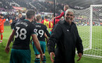 SWANSEA, WALES - MAY 08: Mario Lemina of Southampton after the Premier League match between Swansea City and Southampton at Liberty Stadium on May 8, 2018 in Swansea, Wales. (Photo by Matt Watson/Southampton FC via Getty Images)