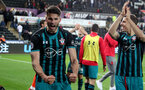 SWANSEA, WALES - MAY 08: Wesley Hoedt of Southampton after the Premier League match between Swansea City and Southampton at Liberty Stadium on May 8, 2018 in Swansea, Wales. (Photo by Matt Watson/Southampton FC via Getty Images)