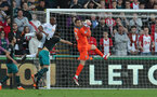 SWANSEA, WALES - MAY 08: Alex McCarthy of Southampton during the Premier League match between Swansea City and Southampton at Liberty Stadium on May 8, 2018 in Swansea, Wales. (Photo by Matt Watson/Southampton FC via Getty Images)