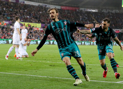 Video: Gabbiadini relives Swansea scenes