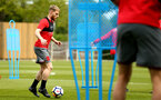 SOUTHAMPTON, ENGLAND - MAY 11: Josh Sims during a Southampton FC training session at Staplewood Complex on May 11, 2018 in Southampton, England. (Photo by James Bridle - Southampton FC/Southampton FC via Getty Images)