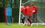 SOUTHAMPTON, ENGLAND - MAY 11: Fraser Forster (middle) during a Southampton FC training session at Staplewood Complex on May 11, 2018 in Southampton, England. (Photo by James Bridle - Southampton FC/Southampton FC via Getty Images)