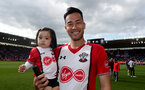 SOUTHAMPTON, ENGLAND - MAY 13: Maya Yoshida of Southampton during the Premier League match between Southampton and Manchester City at St Mary's Stadium on May 13, 2018 in Southampton, England. (Photo by Matt Watson/Southampton FC via Getty Images)