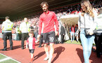SOUTHAMPTON, ENGLAND - MAY 13: Manolo Gabbiadini of Southampton during the Premier League match between Southampton and Manchester City at St Mary's Stadium on May 13, 2018 in Southampton, England. (Photo by Matt Watson/Southampton FC via Getty Images)