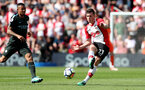 SOUTHAMPTON, ENGLAND - MAY 13: Pierre-Emile Hojbjerg of Southampton during the Premier League match between Southampton and Manchester City at St Mary's Stadium on May 13, 2018 in Southampton, England. (Photo by Matt Watson/Southampton FC via Getty Images)
