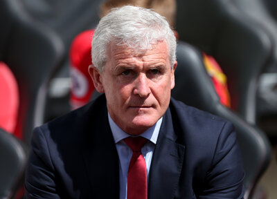 Hughes reveals first words to Saints players