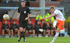 GLASGOW, SCOTLAND - AUGUST 02: Stuart Armstrong of Dundee United tries a shot from range during the Scottish Premiership League match between Partick Thistle and Dundee United at Firhill Stadium on August 02, 2013 in Glasgow, Scotland. (Photo by Mark Runnacles/Getty Images)