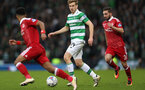 GLASGOW, SCOTLAND - NOVEMBER 27:  Stuart Armstrong of Celtic controls the ball during the Betfred Cup Final between Aberdeen and Celtic at Hampden Park on November 27, 2016 in Glasgow, Scotland. (Photo by Ian MacNicol/Getty Images)