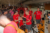 Gallery: Saints arrive in China