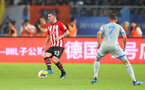 KUNSHAN, CHINA - JULY 05: Pierre-Emile Hojbjerg of Southampton during the pre season 2018 Clubs Super Cup match between Southampton FC and FC Schalke, at Kunshan Sports Center on July 5, 2018 in Kunshan, China. (Photo by Matt Watson/Southampton FC via Getty Images)