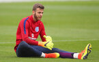 BURTON-UPON-TRENT, ENGLAND - SEPTEMBER 05:  Angus Gunn of England U21's looks on during a training session at St Georges Park on September 5, 2016 in Burton-upon-Trent, England.  (Photo by Alex Livesey/Getty Images)
