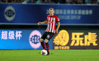 XUZHOU, CHINA - JULY 11: James Ward-Prowse  of Southampton during the 2018 Club Super Cup pre-season match between Southampton FC and Jiangsu suning FC, on July 11, 2018 in Xuzhou, China. (Photo by Matt Watson/Southampton FC via Getty Images)