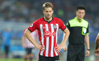 XUZHOU, CHINA - JULY 11: Stuart Armstrong of Southampton during the 2018 Club Super Cup pre-season match between Southampton FC and Jiangsu suning FC, on July 11, 2018 in Xuzhou, China. (Photo by Matt Watson/Southampton FC via Getty Images)