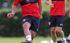 SOUTHAMPTON, ENGLAND - JULY 16: Jake Flannigan during a Southampton FC training session at the Staplewood Campus on July 16, 2018 in Southampton, England. (Photo by Matt Watson/Southampton FC via Getty Images)