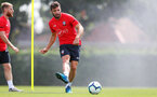 SOUTHAMPTON, ENGLAND - JULY 16: Sam McQueen during a Southampton FC training session at the Staplewood Campus on July 16, 2018 in Southampton, England. (Photo by Matt Watson/Southampton FC via Getty Images)