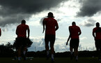 SOUTHAMPTON, ENGLAND - JULY 18: Southampton Players during a Southampton FC training session at Staplewood Complex on July 18, 2018 in Southampton, England. (Photo by James Bridle - Southampton FC/Southampton FC via Getty Images)