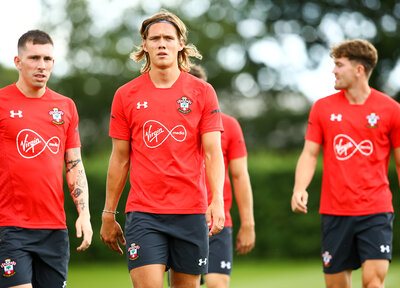 Video: Day one for new Saint Vestergaard