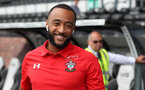 DERBY, ENGLAND - JULY 21: Nathan Redmond of Southampton ahead of the pre-season friendly match between Derby County and Southampton at Pride Park on July 21, 2018 in Derby, England. (Photo by Matt Watson/Southampton FC via Getty Images)