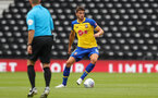 DERBY, ENGLAND - JULY 21: Wesley Hoedt of Southampton during the pre-season friendly match between Derby County and Southampton at Pride Park on July 21, 2018 in Derby, England. (Photo by Matt Watson/Southampton FC via Getty Images)