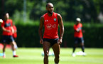 SOUTHAMPTON, ENGLAND - AUGUST 03: Nathan Redmond during a Southampton FC training session at Staplewood Complex on August 3, 2018 in Southampton, England. (Photo by James Bridle - Southampton FC/Southampton FC via Getty Images)