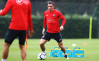 SOUTHAMPTON, ENGLAND - AUGUST 10: Pierre-Emile Hojbjerg during a Southampton FC training session at the Staplewood Campus on August 10, 2018 in Southampton, England. (Photo by Matt Watson/Southampton FC via Getty Images)