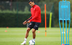 SOUTHAMPTON, ENGLAND - AUGUST 10: Mohamed Elyounoussi during a Southampton FC training session at the Staplewood Campus on August 10, 2018 in Southampton, England. (Photo by Matt Watson/Southampton FC via Getty Images)