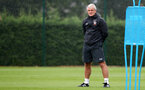 SOUTHAMPTON, ENGLAND - AUGUST 10: Mark Hughes during a Southampton FC training session at the Staplewood Campus on August 10, 2018 in Southampton, England. (Photo by Matt Watson/Southampton FC via Getty Images)