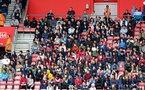 SOUTHAMPTON, ENGLAND - AUGUST 12: Chinese fans during the Premier League match between Southampton FC and Burnley FC at St Mary's Stadium on August 12, 2018 in Southampton, United Kingdom. (Photo by Matt Watson/Southampton FC via Getty Images)