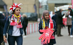 SOUTHAMPTON, ENGLAND - AUGUST 12: Southampton fans before the Premier League match between Southampton FC and Burnley FC at St Mary's Stadium on August 12, 2018 in Southampton, United Kingdom. (Photo by Chris Moorhouse/Southampton FC via Getty Images)