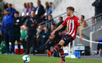 SOUTHAMPTON, ENGLAND - AUGUST 14: Jake Vokins during the U23 International Cup match between Southampton FC vs Dinamo Zagreb pictured at Staplewood Complex on August 14, 2018 in Southampton, England. (Photo by James Bridle - Southampton FC/Southampton FC via Getty Images)