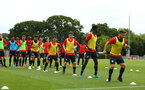 SOUTHAMPTON, ENGLAND - AUGUST 15:  Southampton FC  U23s training pictured at Staplewood Complex on August 15, 2018 in Southampton, England. (Photo by James Bridle - Southampton FC/Southampton FC via Getty Images)